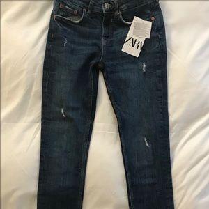 ZARA Skinny Jeans in Zaphire Blue Size 34/USA 2
